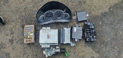 Subaru Legacy Sports MK4 2007 2.0 petrol ignition barrel key transponder ECU KIT
