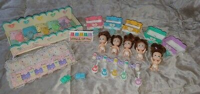 Quints tyco 90s Vintage Rare Dolls