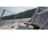 NoRSRV-Built 2Swedish Nautical Standards AWESOME RACER CRUISER-CarbonFiber Sails