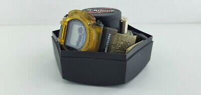 Vintage Casio G-Shock DW-9000 Shock Resistant transparent boxed OVP for parts