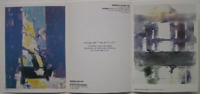 PAUL KALLOS  - Carton d invitation - 1988 segunda mano  Embacar hacia Spain
