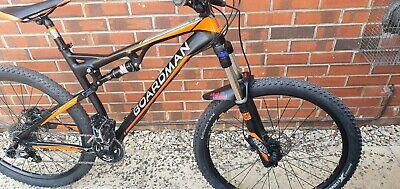 "Mountain bike Boardman team full suspension 27.5 wheels frame large 19"""