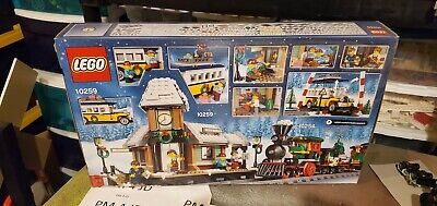 LEGO10259 Creator Winter Village Train Station Complete New in Box retired set