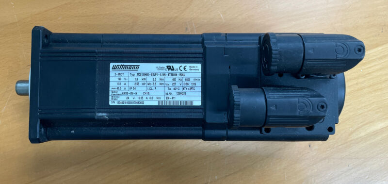 3~Servomotor Motor Synchronmotor Lenze MCS 09H60-SELP1-A14N-ST5S00N-R0SU Neu New