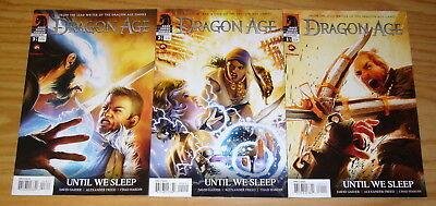 Dragon Age: Until We Sleep #1-3 VF/NM complete series based on EA video games