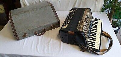 Hohner Atlantic III P Piano Accordion with Travel Case