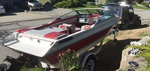 1989 Vanguard Boat & Trailer