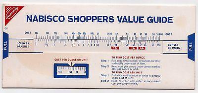 1970s NABISCO Advertisement Slide RITZ Premium TRISCUIT Oreo NILLA Wafers