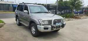 2003 Toyota Landcruiser GXL 100 Series TURBO DIESEL AUTO 4X4 Williamstown North Hobsons Bay Area Preview