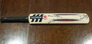Cricket bat miniature trophy signed by Justin Langer Mount Lawley Stirling Area Preview