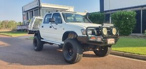 2002 TOYOTA HILUX 4x4 TURBO DIESEL MANUAL DUAL CAB UTE Durack Palmerston Area Preview