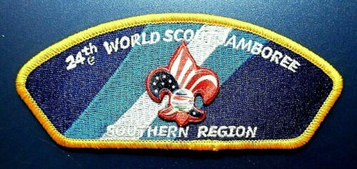 24th World Scout Jamboree 2019 USA Contingent EMBLEM PATCH SOUTHERN REGION NEW