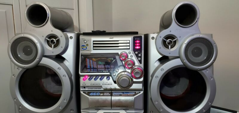 JVC MX-GT90 / Best Component system ever!! / Insane Bass will rattle walls!