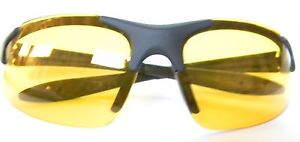 UV Protecting Safety Yellow Glasses Use UV Light Enhancing Goggles Sunglasses