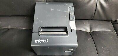 Epson Micros Tm-t88v M244a Pos Thermal Receipt Printer Usb