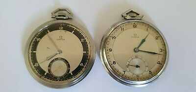 OMEGA - Two pocket watches - Vintage