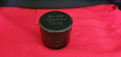 Canon 50mm f0.95 Dream lens leather lens case In EX condition VERY RARE
