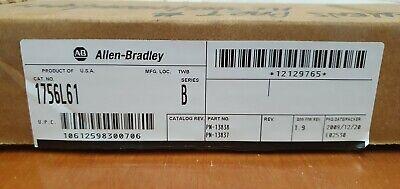 New Allen Bradley 1756-l61 B Controllogix Logix5561 Processor 2mb