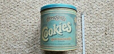 Vintage 1979 Pentron Ind Oven Cookie Tin Restaurant Home Kitchen Store Coffee