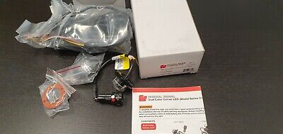 Federal Signal H.a.w. Leds With Inline Flasher Pn 416900-rw Hide-a-way