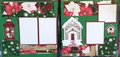 Home For Christmas 12 x 12 Scrapbook Layout ()