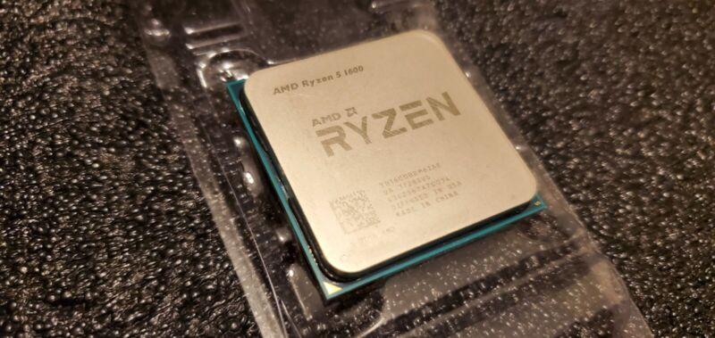 AMD Ryzen 5 1600 6-Core AM4 65W 3.2GHz Gaming CPU Processor