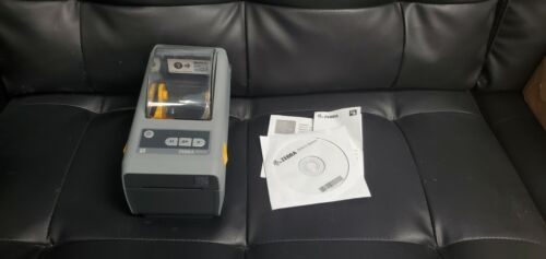 Zebra ZD410 Thermal Barcode Label Tag Printer Ethernet & USB