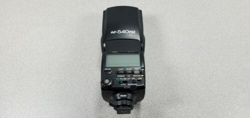 PENTAX Flash Auto Strobe AF540FGZ w/ Soft Case Excellent Condition SHIPS FROM US