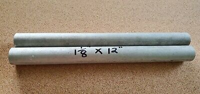 1-18 6061 T6511 Aluminum Solid Round Rod Bar 12 Long New Extruded Lathe Stock