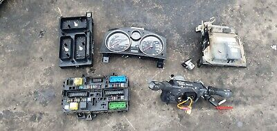 Vauxhall Zafira B 1.7 CDTI diesel ignition barrel key transponder engine ecu