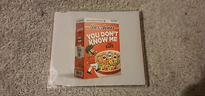 JAX JONES FEAT. RAYE - YOU DON'T KNOW ME NEW SEALED HOUSE CD SINGLE