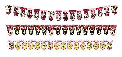 r - Palette von Minnie Maus Designs (Dekoration / Party / (Minnie Maus Happy Birthday Banner)