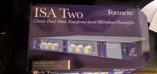 BRAND NEW!! Focusrite Focusrite ISA TWO Dual Microphone Preamplifier - Blue
