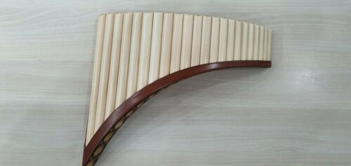 Hybrid PanFlute, 22 pipes, solid wood, alto G1-G4, Hora Romania, NEW + soft case
