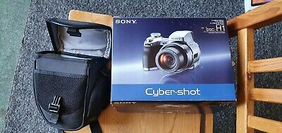 Sony Cyber-shot DSC-H1 5.1MP Digital Camera - Silver, Additional Lenses and Card