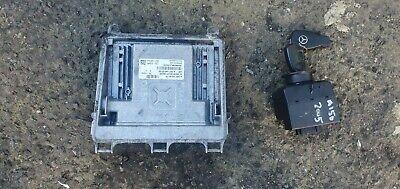 Mercedes A150 2005 1.5 petrol ignition barrel key transponder engine ecu kit