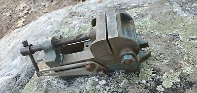 Vintage Palmgren Tilting Angle Machinist Drill Press Vise Made In Usa