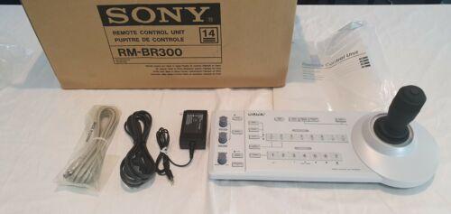 Sony RM-BR300 Joystick Remote Control Panel PTZ + EVI-D70P Security Camera