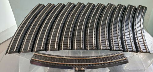 Lionel Circle OO Gauge Two Rail ScaleTrack 11 0031 and 1 0034 Excellent 1939