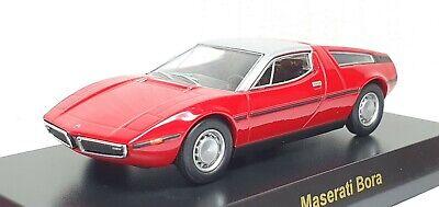 1/64 Kyosho MASERATI BORA RED diecast car model