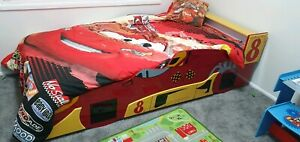 Kids Car Single Bed - great condition