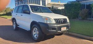 2003 TOTOTA LAND CRUISER PRADO GX 4x4 TURBO DEISEL MANUAL 8 SEATER Durack Palmerston Area Preview