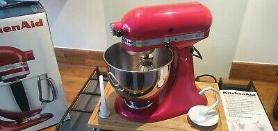 KitchenAid Artisan Stand Mixer- Raspberry Ice (Pink) 4.8L With Attachments Tilt