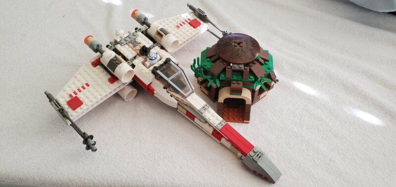 Luke Skywalker x-wing fighter (4502) incomplete