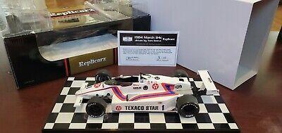 Replicarz #1 Tom Sneva Texaco Star 1984 Indianapolis 500 Pole Winner 1:18 MIB