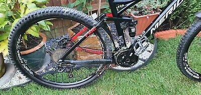 "Mountain bike Merida one forty-b full suspension.27.5 wheels frame 17"""