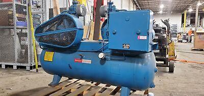Quincy Wp200 Wp 241d6g2c0d Air Compressor Honeywell Baldor Motors