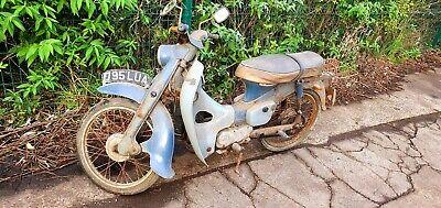 Barn Find 1964 Honda C100 (C102/SuperCub/C90/C50cc) Moped. Completely Original!