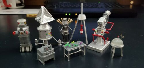 Lost In Space Equipment Laundry Drill Weather FFG Water Jet Pack Lunar 1:35 3D