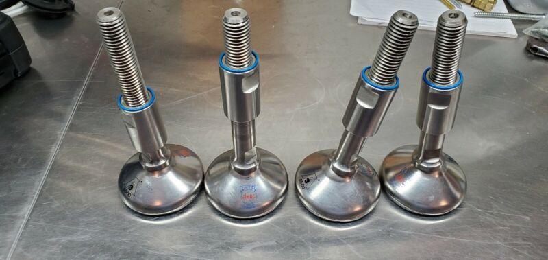 4-S&W Type H Hygienic Leveling Mount LPK-XH080-75-59